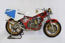 Yamaha TZ350 CROSS OVER STAINLESS STEEL JL EXHAUSTS